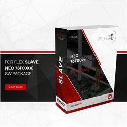 Logiciel Flex NEC 76F00xx Slave