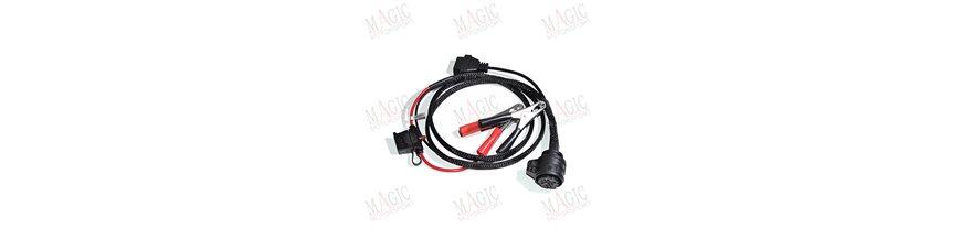 Câbles et connecteurs pour calculateur